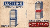 Luciline  Pétrole De Salon  - Moto-Naphta  Première Essence Du Monde - Moto & Vélo