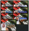 UAE United Arab Emirates 2012 MNH - National Day, Atchitecture, Ruler Of States, Complete Set Of 7 Souvenir Sheets Scarc - Verenigde Arabische Emiraten