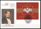 Österreich-   - FDC -1992  -  Mi.Nr.    2054 -   Block  11      -      Blockausgabe: 150 Jahre Wiener Philharmoniker. - FDC