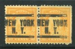 ETATS-UNIS- Y&T N°208 (A)- Oblitéré (paire De Préoblitérés) - Unused Stamps