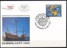 Österreich-   - FDC -1992  -  Mi.Nr.    2062  -   500. Jahrestag Der Entdeckung Von Amerika - FDC