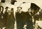 Belgique Bruxelles Visite De Anthony Eden Aerodrome Evere Ancienne Photo De Presse 1937
