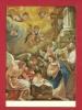 HAI-18  Hinterglasgemälde  Peinture Sur Verre, Vitraux, Scène Religieuse Avec Anges. Circulé En 1972 - Angeles