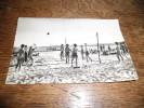 CPSM De Biscarosse (Landes) - La Plage Du Lac - N°62 - Volleyeurs Sur La Plage, Carte Animée - Biscarrosse