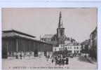 7694   CPA     ARMENTIERES   ;  La Place Des Halles Et L'Eglise Saint Waast    ACHAT DIRECT !! - Armentieres