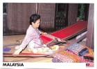 Pua Cloth Traditional Hand Looms, Sarawak, Malaysia - Yacine 37496 Unused, 17 X 12 Cm - Malaysia