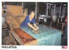 Batik Printer, Traditional Craftsman, Malaysia - Yacine 21285 Unused, 17 X 12 Cm - Malaysia