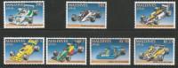 Maldives Mint MNH  Stamps ,Set Of 7 ,1991 GRAND PRIX RACE CARS FORMULA ONE UNO WILLIAMS BRABHAM RENAULT AUTO GRAN PREMIO - Coches