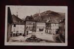 Ribeauvillé - Place De La Jauge Avec Fontaine - Ribeauvillé
