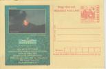 India  2005  Live Volcano  Andaman And Nicobar Islands Postal Stationary Post Card # 87691  Inde Indien - Volcanos