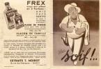 Document Publicitaire Dépliant De :  Frex - Illustrateur J. Margerin - Soif - Noirot - Reclame