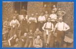 Privat-Foto-AK; Solingen; Unbekannte Firma; 1912 - Solingen