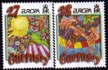 Europa - CEPT 2002 - Guernesey - Yvert Nr. 929/930 - Michel  Nr. 914/915   ** - Europa-CEPT