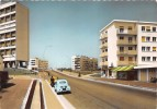 """¤¤  -  313   -  LORIENT   -   Le Boulevard Swob Et Les Buildings  -  Voiture """" 4 CV """"  -  Café """" La Paix """"   -  ¤¤ - Lorient"""