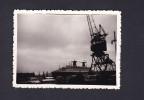 Photo Originale - Bateau - Paquebot FRANCE - Le Havre - Port ( Voiture Citroen AMI ) - Boats