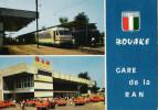BOUAKE - Gare De La Ran (taxi En Renault 4 / Ran Station / Ran Bahnhof) - Ivory Coast