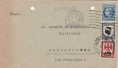 1947 LETTRE IMPRIME 2.00F STASBOURG  POUR SCHILTIGHEIM  / 6481 - France