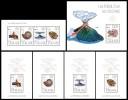 TOGO 2013 - Fossils and Volcanos. Complete set - YT 3424-7 + BF717