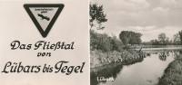 Foto-AK BERLIN 'Das Fließtal Von Lübars Bis Tegel' ~ 1963 - Tegel