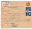 Yugoslavia Kingdom 1939 Sprovodni List - Parcel Card Ljubljana - Medvode B151120 - Covers & Documents