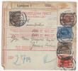 Yugoslavia Kingdom 1929 Sprovodni List - Parcel Card Ljubljana - Jesenice-Fužine B151120 - Covers & Documents