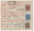 Yugoslavia Kingdom 1927 Sprovodni List - Parcel Card Zagreb - Bosanska Dubica B151120 - 1931-1941 Royaume De Yougoslavie