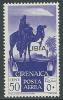 1936 LIBIA POSTA AEREA 50 CENT MNH ** - Y048 - Libya