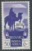 1936 LIBIA POSTA AEREA 50 CENT MNH ** - Y048-3 - Libya