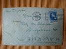 Philippinen, Brief Von Manila Via Singapur Nach Hamburg, Gelaufen 1938 Mit Rotes Kreuz Stempel ! - Philippinen