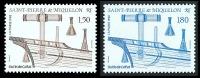 ST-PIERRE ET MIQUELON 1992 - Yv. 561 Et 562 ** TB  Faciale= 0,50 EUR - Outils De Calfat (2 Val.) ..Réf.SPM10872 - Unused Stamps