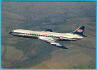 JAT ( Yugoslav Airlines ) - CARAVELLE SE-210 ... Old Postcard , Not Travelled * Plane Avion SUD AVIATION SNCASE SUD-EST - Advertisements