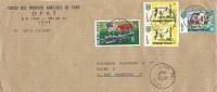 Togo 1977 Lome Apollo Soyuz Space Flags USSR USA Cover - Togo (1960-...)