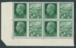 1942 REGNO PROPAGANDA DI GUERRA 25 CENT QUARTINA LUSSO MNH ** - VA16-7 - 1900-44 Victor Emmanuel III.