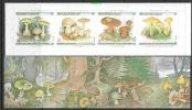 Belgie 1991 Fungi / Mushrooms / Paddestoelen  Booklet ** Mnh (F2919) @ Face - Carnets 1953-....