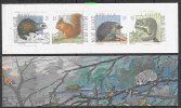 Belgie 1992 Dieren Uit Het Woud / Animals From The Woord Booklet ** Mnh (F2920) @ Face - Carnets 1953-....