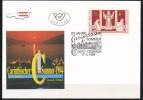 """Österreich-   - FDC -1994  -  Mi.Nr.    2129    -   25 Jahre Festspiele """"Carinthischer Sommer"""", Ossiach Und - FDC"""