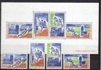 Mali 1972 Michel 316-319, Block 6 Olympic Games Munich, Football Soccer, Judo Etc. Set Of 4 + S/s MNH - Ete 1972: Munich