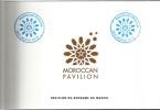 EXPO UNIVERSELLE MILANO  2015.MAROC. Carnet Prestige Du Pavillon Du Maroc De 46 Pages,avec Tampons Officiel Du Pavillon - Dépliants Touristiques