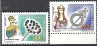 2003  Tunisie  N°1504 Et 1505  Nf** . Bijoux En Argent . - Tunisia (1956-...)