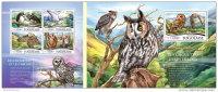 TOGO 2015 ** M/S + S/S Owls Eulen - OFFICIAL ISSUE - F1529 - Eulenvögel