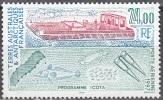 TAAF 1997 Yvert Poste Aérienne 144 Neuf ** Cote (2015) 11.20 Euro Barge Et Filets - Poste Aérienne