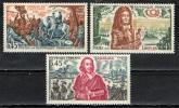 FRANCIA - 1970 - STORIA DI FRANCIA: V SERIE- CARDINALE RICHELIEU - LUIGI XIV - BATTAGLIA DI FONTENOY - NUOVI MNH - Neufs