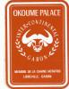 OKOUME PALACE INTER CONTINENTAL - GABON LIBREVILLE , Old HOTEL LUGGAGE LABEL ETIQUETTE ETICHETTA BAGAGE - Etiketten Van Hotels