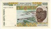 Billet De  500 Francs  N53 - West-Afrikaanse Staten