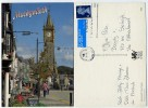 Wales - Machynlleth - Clock Tower - Used 1999 - Stamp - Montgomeryshire