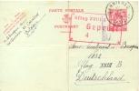 Belgium 1940 German Occupation Postal Stationery Postcard 1 F. From Carneres To Prisoner Of War In German Oflag XVIII B - Besetzungen 1938-45