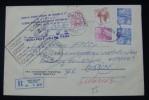 1987, VERY RARE KOSOVO RECOMMANDE JUDICAL COVER (REGISTERED), FROM PRIZREN TO MUSUTISTE - Briefe U. Dokumente