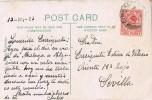 15723. Postal GIBRALTAR 1923. Vista De La Roca Desde San Felipe - Gibilterra
