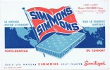 Buvards  Simmons - Buvards, Protège-cahiers Illustrés