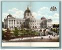 Pennsyvania´s New Capitol, HARRISBURG, Pa --- (CP 2 Volets,, à Voir!) ---   R10226 - Harrisburg